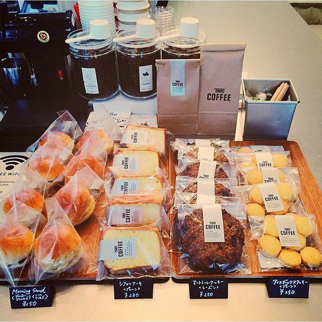 おはようございます!3月1日遂にオープンしました!肌寒い朝に、1杯のコーヒーで1日の始まりを!心を込めて美味しいコーヒーお淹れします♪朝は、プチサンドもご用意してます。本日はハムたまごブルーベリークリームチーズ。手作りの焼き菓子もあります。皆さんのお越しをお待ちしております!
