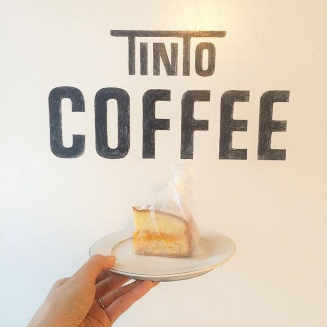 ビクトリアケーキ︎ まだあります!#molocoecakes#tintocoffee #ビクトリアケーキ