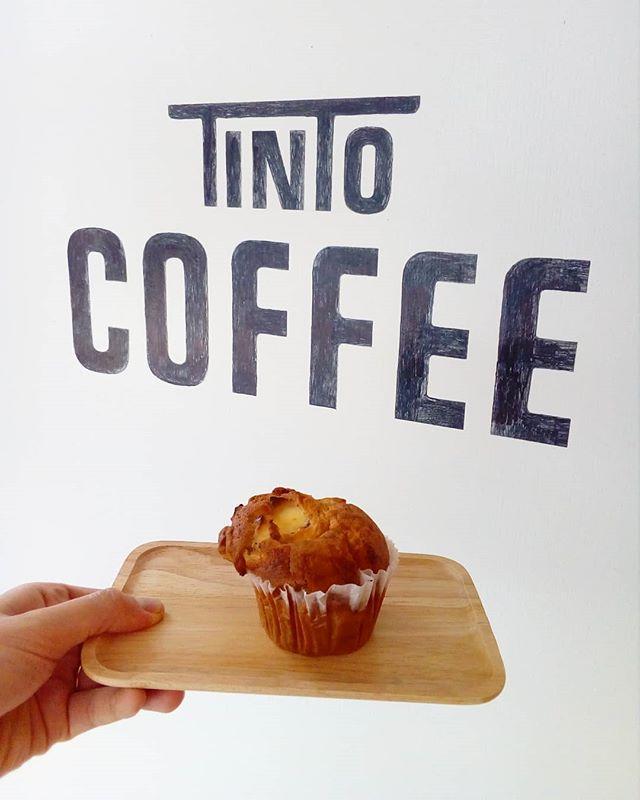 マフィン焼けました [TINTOCOFFEE GW お休みのお知らせ]5月1日、2日 通常営業5月3日~6日  お休みです。宜しくお願いします#TINTICOFFEE#コーヒー#coffee #cookies#cake #渋谷#表参道#青山#レモンケーキ#コーヒー