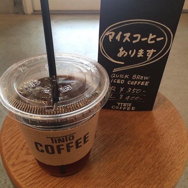 こんにちは︎ 今日は特に暑いですねすぐにお出しできる本日のコーヒーあります!お急ぎの方にも、一刻も早く水分を摂取したい方にもオススメです♪#TINTOCOFFEE#coffee#cookies#cake#コーヒー#チーズケーキ#キャロットケーキ #ビスコッティ#クッキー#カフェラテ#テイクアウト#イートイン#渋谷#表参道#青山