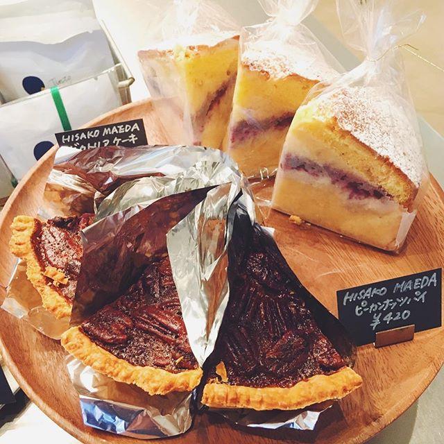 .こんにちは!先程前田さんのお菓子が届きました!今回のラインナップは、・ピーカンナッツパイ・栗クリームとベリージャムのビクトリアケーキ・ラズベリージャムクッキーです。秋晴れの今日にぴったりなお菓子が並んでます^ ^コーヒーとご一緒にぜひお立ち寄り下さい。お待ちしてます♪...#tintocoffee #coffee #hisakomaeda #shibuya #omotesando