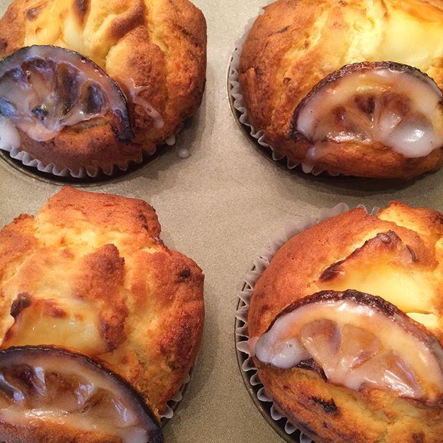 レモンとクリームチーズのマフィン焼きました🍋#TINTOCOFFEE#coffee#cake#cookies#コーヒー#ケーキ#クッキー#渋谷#表参道#青山#渋谷コーヒー#ケーキ#サンドイッチ#レモンシロップ