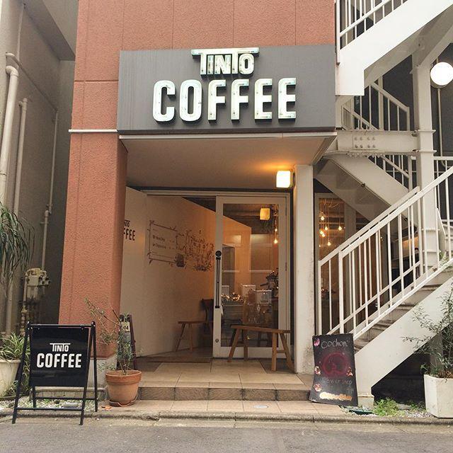 おはようございます︎ TINTOCOFFEEオープンしました︎今日もなかなか冷えるので店内でゆっくりしていって下さいね︎︎ #TINTOCOFFEE#coffee#cake#cookies#コーヒー#ケーキ#クッキー#渋谷#表参道#青山#渋谷コーヒー#ケーキ#サンドイッチ#レモンシロップ